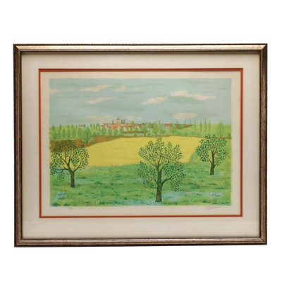Maurice Loirand Limited Edition Color Lithograph