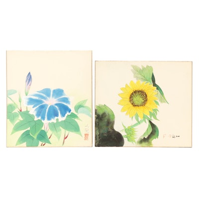 Botanical Watercolor Paintings
