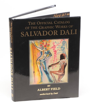 """Authorized """"The Official Catalog of the Graphic Works of Salvador Dalí"""" by Field"""