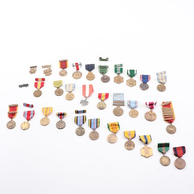 U.S. Military Medals including Navy, National Guard and Armed Forces