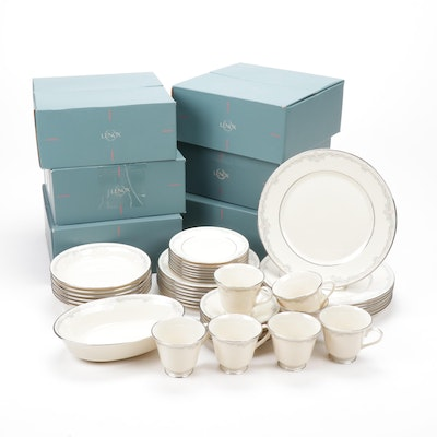 "Lenox ""Kingston"" China Dinnerware, Service for Thirteen"