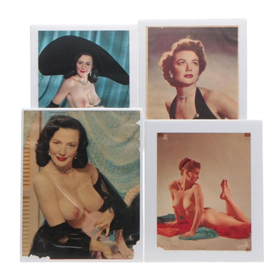 Offset Lithograph after Portraits of Dorothy Malone and Evelyn West