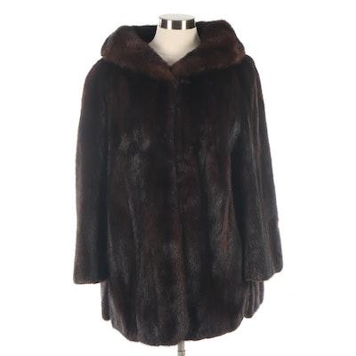 Ranch Mink Fur Jacket, Mid-20th Century
