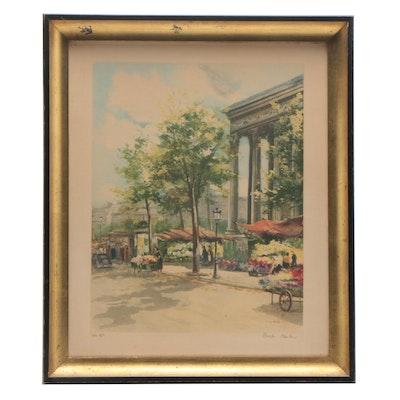 Market Street Lithograph