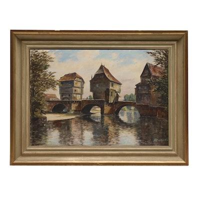 Heinrich Landscape Oil Painting