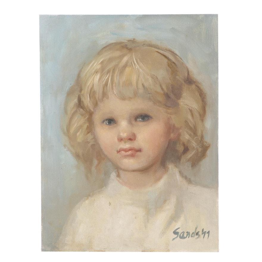 Sands Portrait Oil Painting