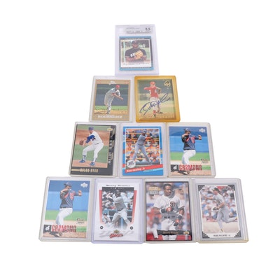 Baseball Trading Cards Including Ken Griffey Jr. and Mark McGwire