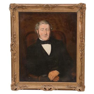 Portrait Oil Painting of Gentleman