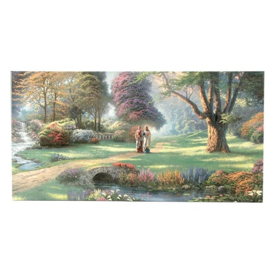 "Giclee Print after Thomas Kinkade ""Walk of Faith"""
