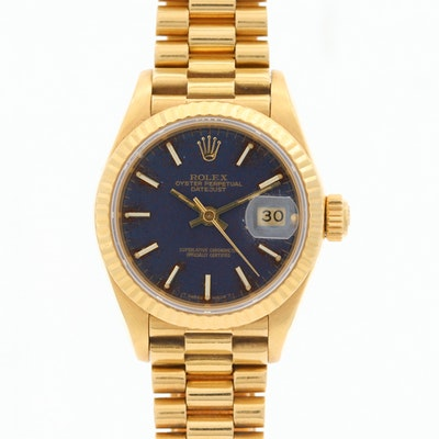 Rolex Datejust Presidential 18K Yellow Gold Wristwatch