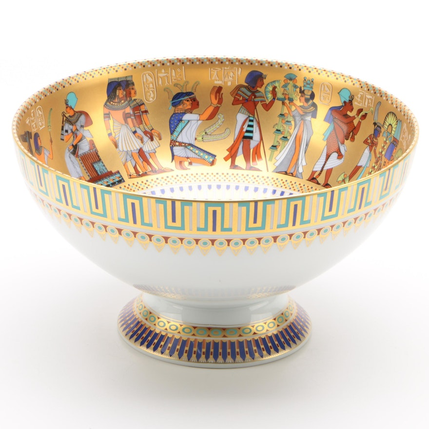 "Kaiser ""Theben"" Porcelain Footed Centerpiece Bowl"