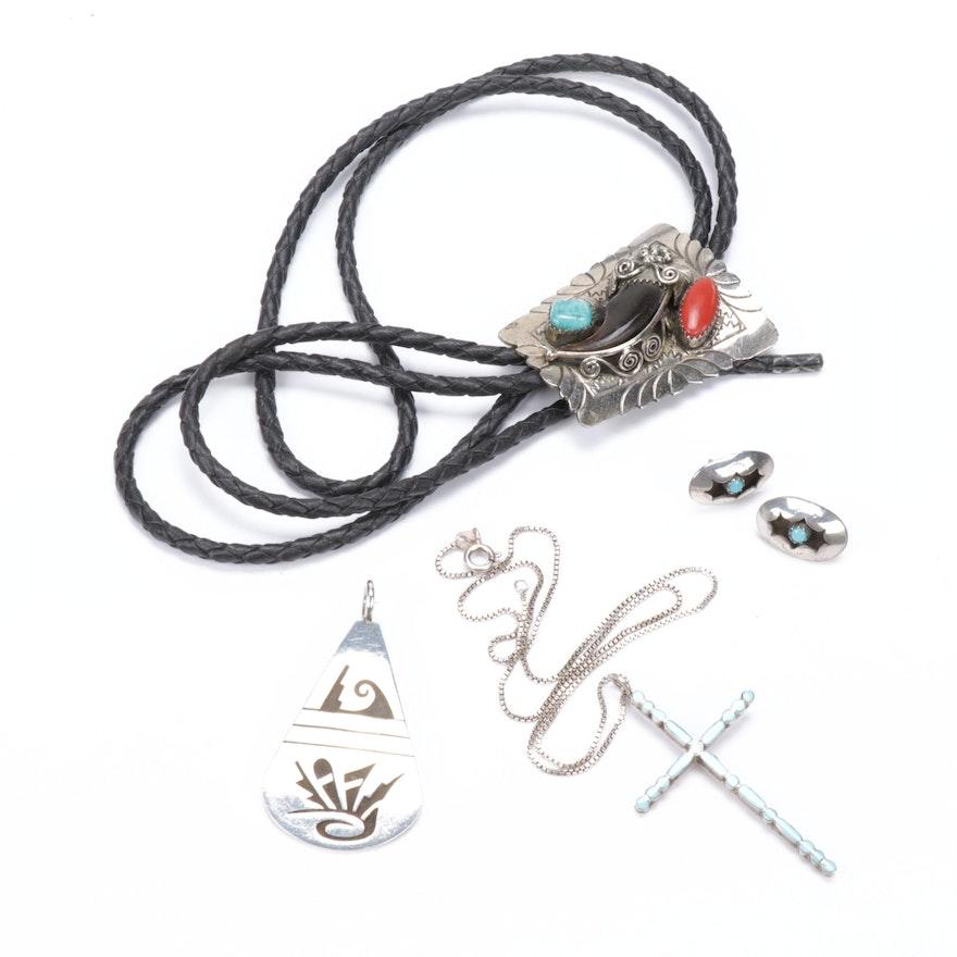 Sterling Silver Southwestern Jewelry Assortment