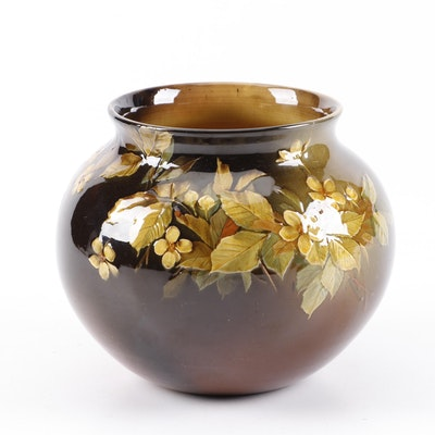 Kataro Shirayamadani Rookwood Pottery Vase, 1890