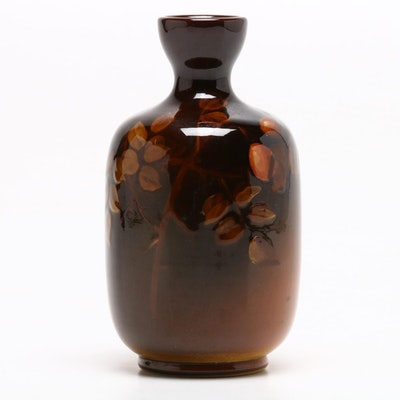 A.E. Foy Rookwood Pottery Vase, Late 19th Century
