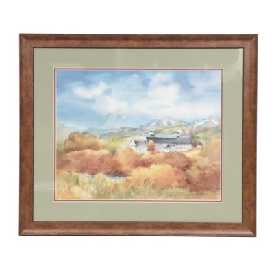 Judy Taylor Rural Landscape Offset Lithograph