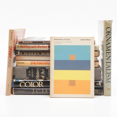"""Interaction of Color"" by Josef Albers and Other Art Books"