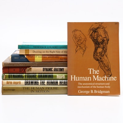 """Atlas of Human Anatomy for the Artist"" and Other Art Books"