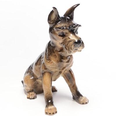 Goebel Ceramic Schnauzer Figurine
