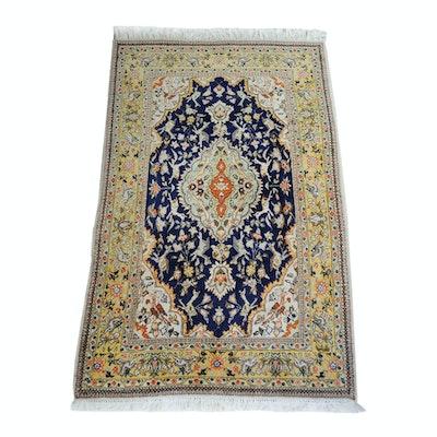 Hand-Knotted Persian Tabriz Tabatabai Rug