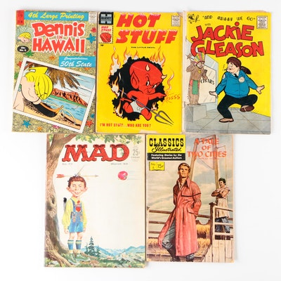 """""""Mad"""" Magazine, """"Hot Stuff"""" and Other Comic Books, Vintage"""
