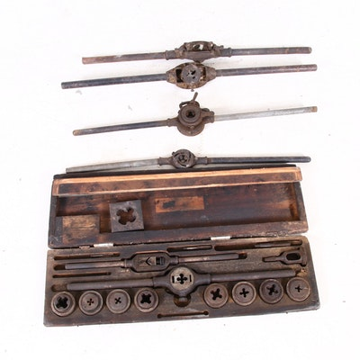 Industrial Threading Dies, Early to Mid 20th Century