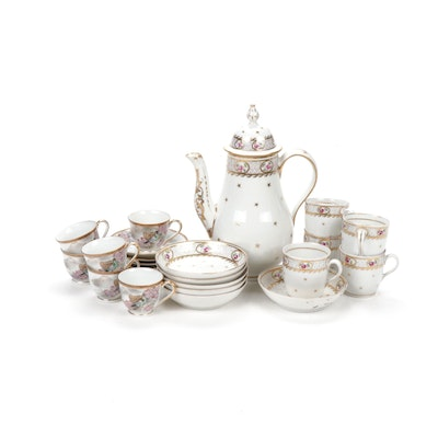 Porcelain Coffee Service Set