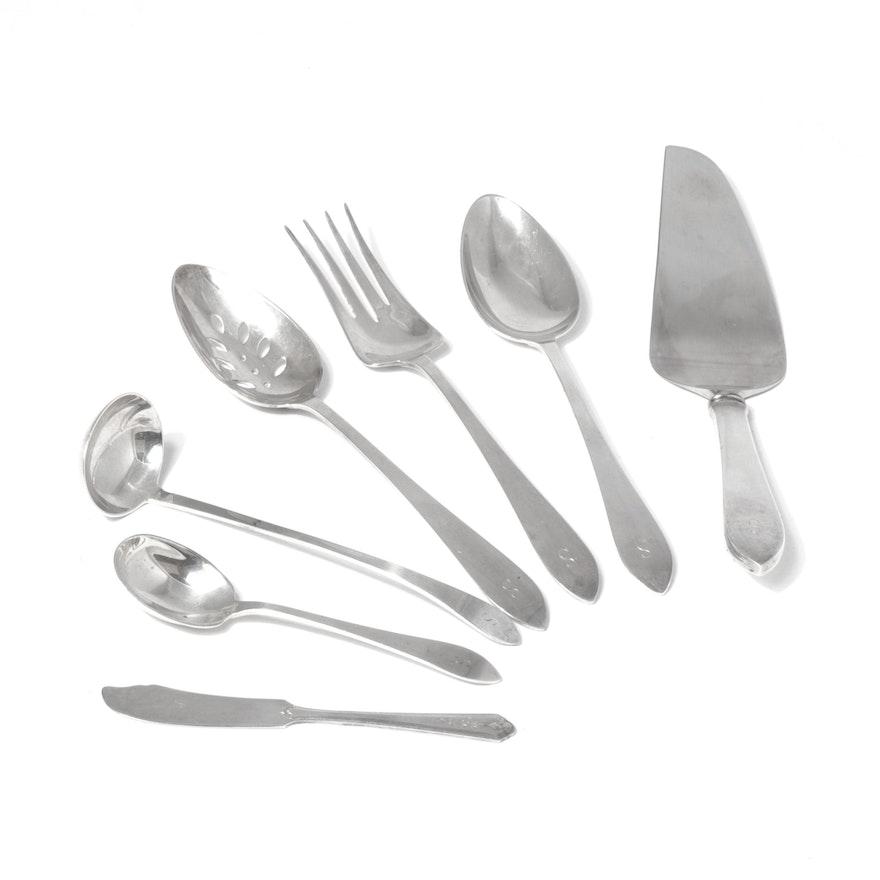 "Tiffany & Co. ""Faneuil"" Sterling Silver Serveware"