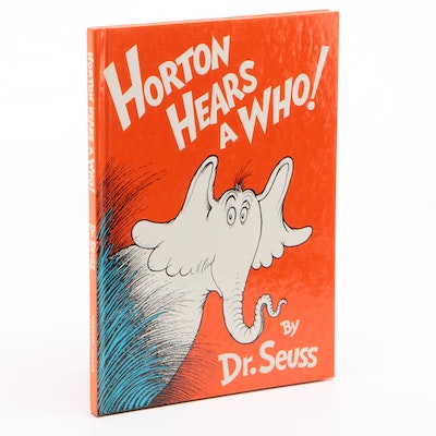 "1982 Signed ""Horton Hears a Who!"" by Dr. Seuss"