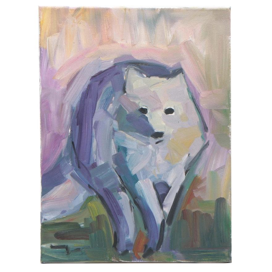 """Jose Trujillo Oil Painting """"Free Spirit"""""""