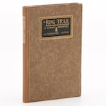 "1921 Autographed Edition ""The Long Trail"" by Kermit Roosevelt"