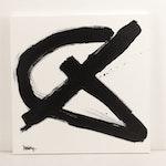 """Robbie Kemper Acrylic Painting """"Loop Slash"""""""