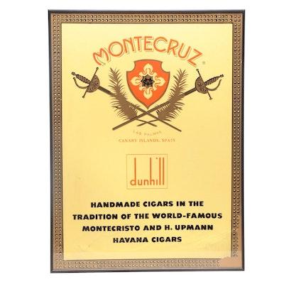 Montecruz Cigars Serigraph Poster, 20th Century