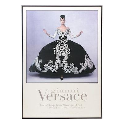 Exhibition Poster for Gianni Versace at The Metropolitan Museum of Art