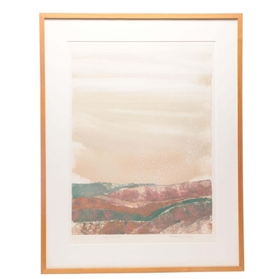 """1984 Relief Print """"Canyon Suite #9"""""""