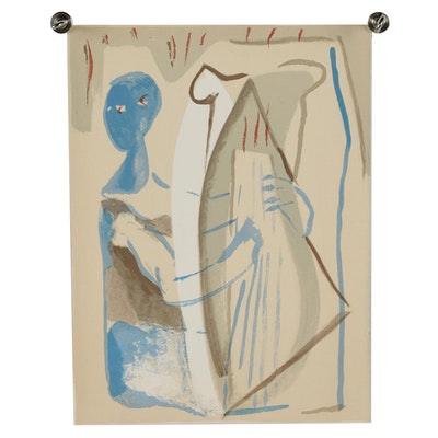 "Francisco Borés Color Lithograph from ""Borés"""