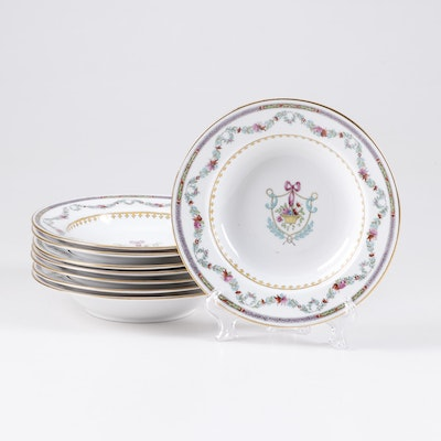 Spode Copeland Ceramic Soup Bowls, Late 19/Early 20th Century