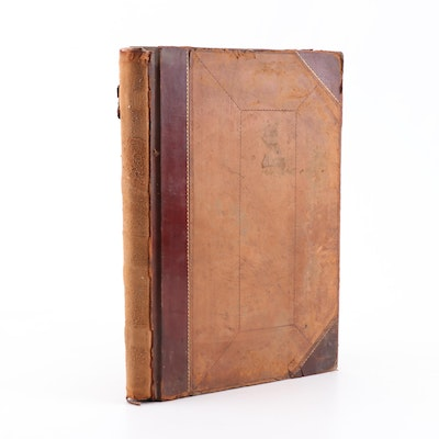 1881 Canada Southern Railway Full Stock Transfer Ledger Book