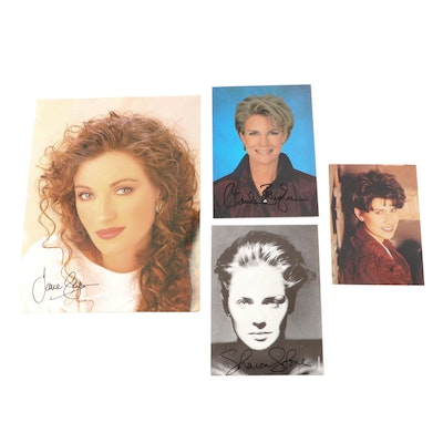 Television Actress Autographed Photos