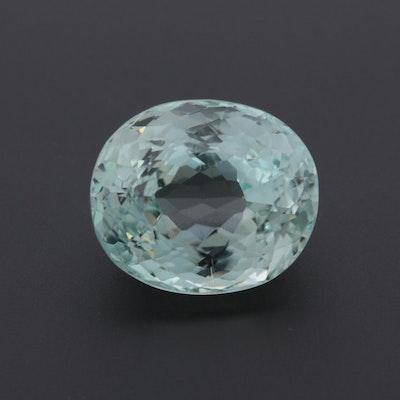 Loose 28.75 CT Hiddenite Gemstone