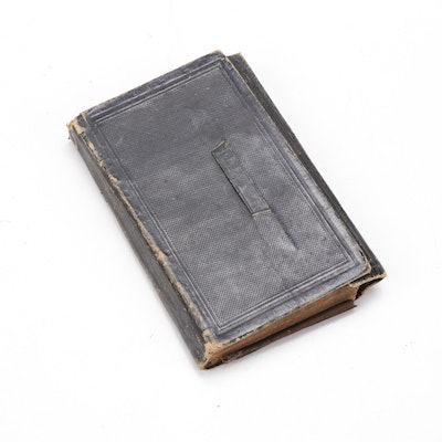1863 Leather Bound Daily Remembrance Journal