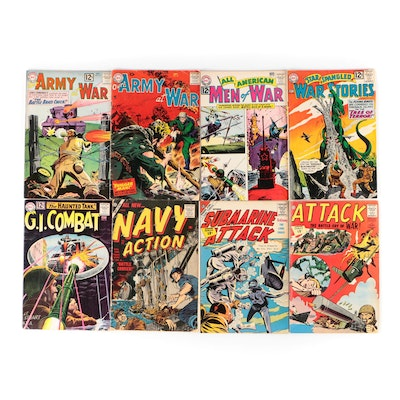U.S. Military Themed Comic Books From DC, Atlas, and More, 1950s-1960s