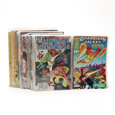 "Bronze and Modern Age Comic Books Including ""Iron Fist"" #1"