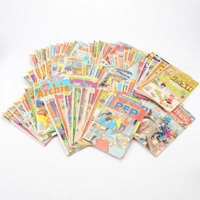 """Archie"" Comics and Harvey World Comic Books"