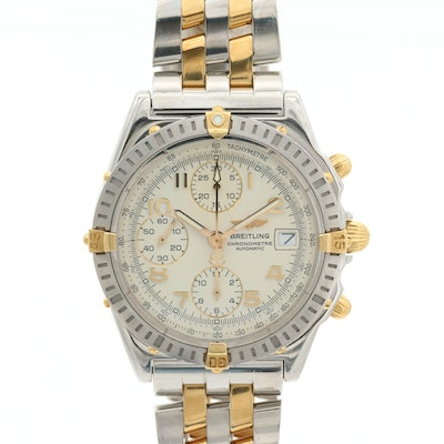 Breitling Chronomat 18K and Stainless Steel Automatic Chronograph Wristwatch