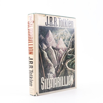 """1977 First American Printing """"The Silmarillion"""" by J. R. R. Tolkien"""