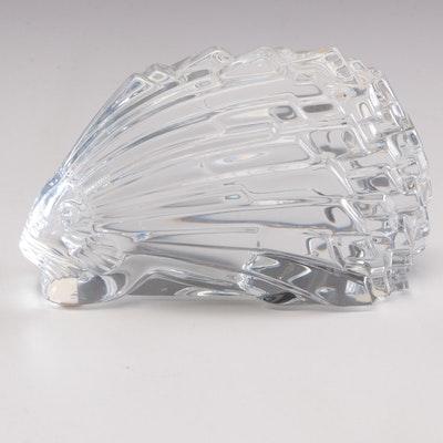 Baccarat Crystal Porqupine Art Glass Paperweight