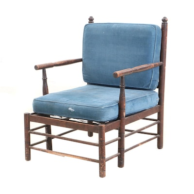 Traditional Ladder-Back Armchair