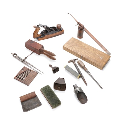 Antique & Vintage Wooden Tools
