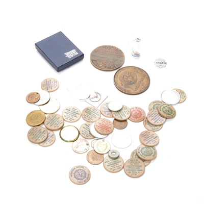 Advertising Token & Medal Assortment