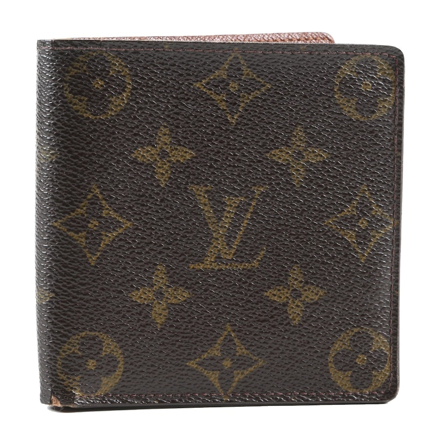 Louis Vuitton Paris Marco Wallet in Monogram Canvas